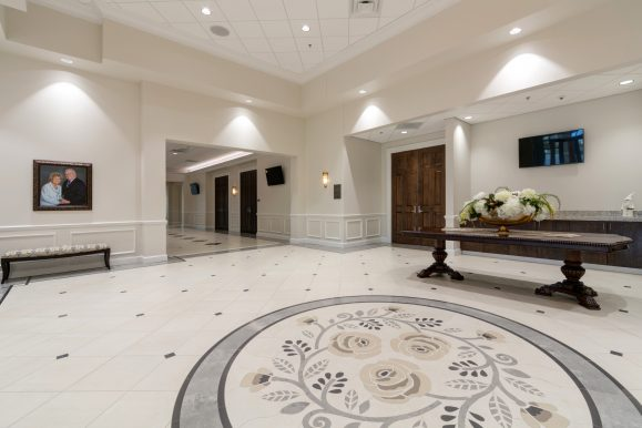 Commercial Ceramic Tile: The Bowden Event Center