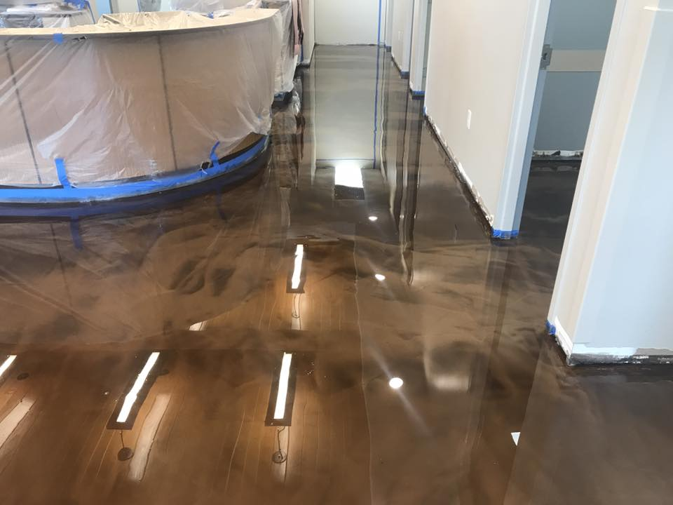 Resin Flooring Spectra Contract