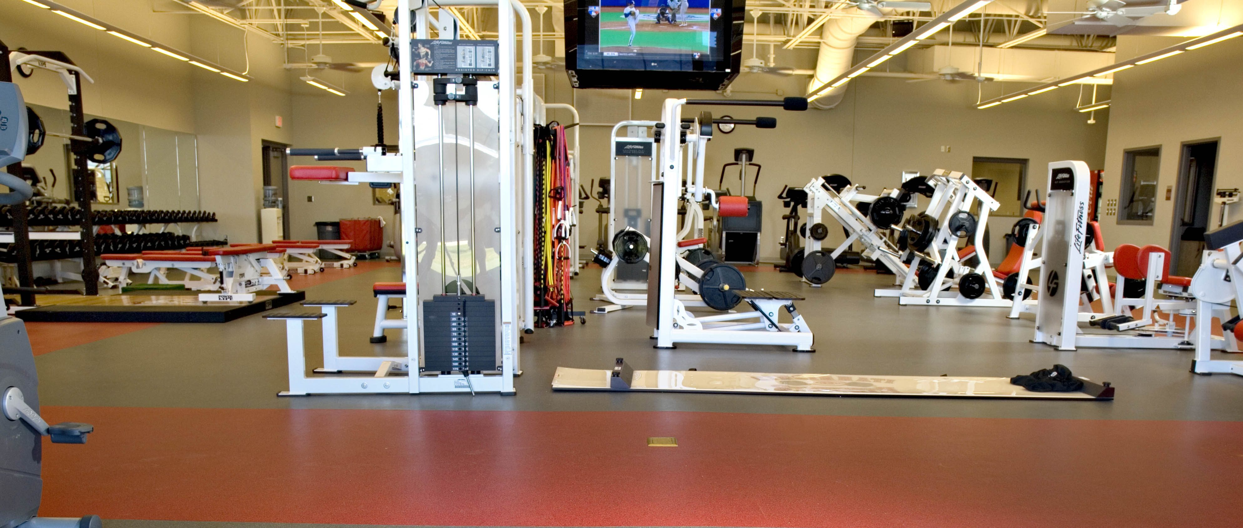Exercise room flooring turf basement workout room flooring workout