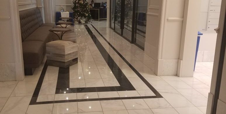 Commercial Marble Flooring: The Paces 325 Project. U003eu003e