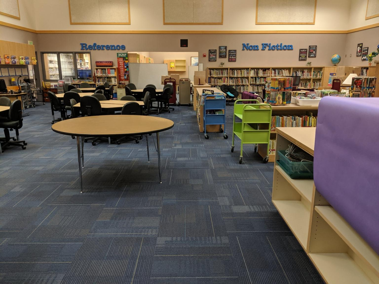Washington Flooring Project: Northern Heights Elementary School