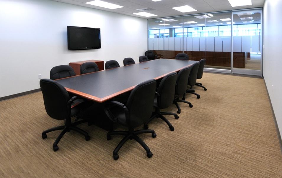 in-use facility flooring installation
